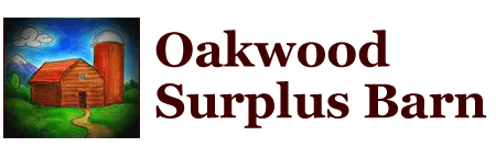 Oakwood Surplus Barn Logo